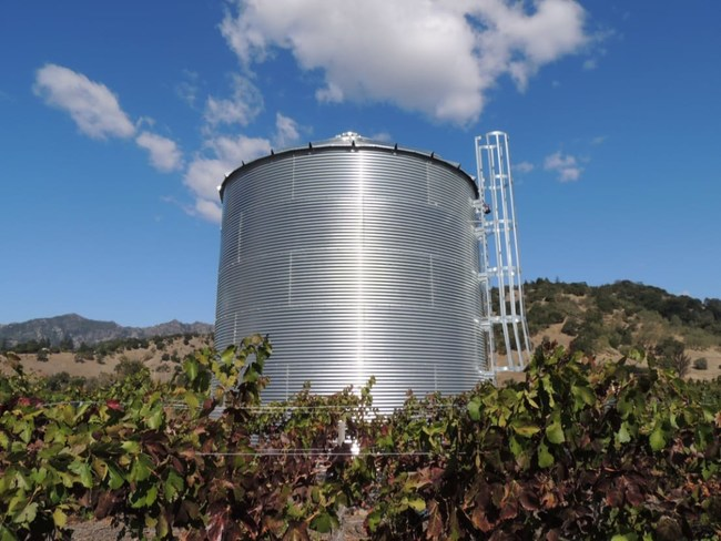 Fire protection tanks are now required in California and many other states due to the severity and frequency of wildfires. SteelCore Tank is one of the premier manufacturers of water storage tanks in the world.