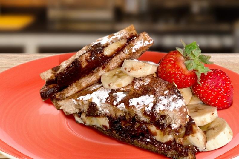 Tabitha Brown's Chocolate Banana Cinnamon Toast
