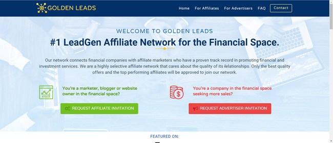Golden Leads Screenshot (PRNewsfoto/Golden Leads)