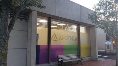 Apothca's Arlington adult-use dispensary located at 1386 Massachusetts Avenue