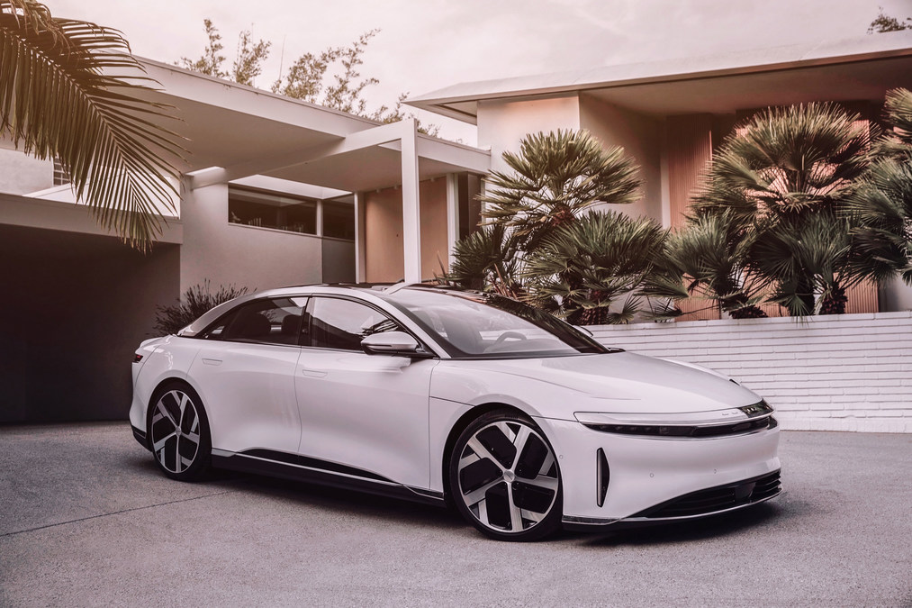 Lucid Motors Unveils Lucid Air, the World's Most Powerful and Efficient Luxury Electric Sedan