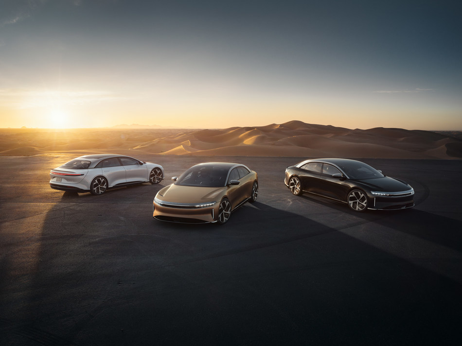 Lucid Motors unveiled production details for the highly anticipated Lucid Air pure-electric luxury sedan, which will start at less than $80,000 USD and set new industry benchmarks in the EV and luxury segments in key areas related to performance, efficiency, and design.