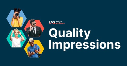 IAS rebrands its media quality metric to Quality Impressions™ giving advertisers a single metric that represents a viewable, brand safe, fraud free, and in-geo impression they can trust.