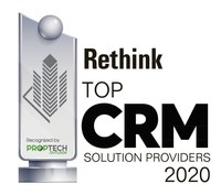 Rethink Recognized as a 2020 Top CRM Solution Provider by PropTech Outlook