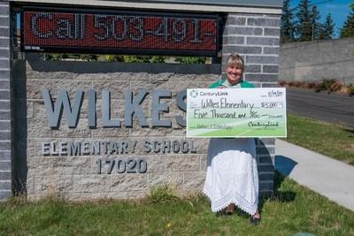 Sharon Little – Wilkes Elementary School in Portland, OR