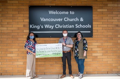 Anh Le, Tom Judd, Lynette McHenry – King's Way Christian Schools in Vancouver, WA