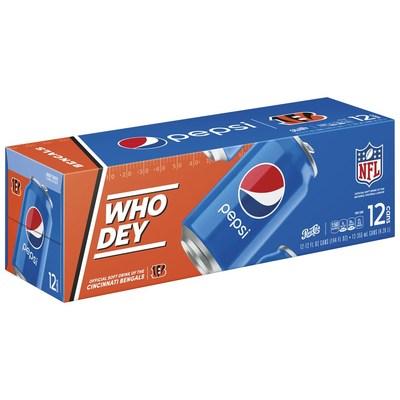 Bengals X Pepsi 12pk