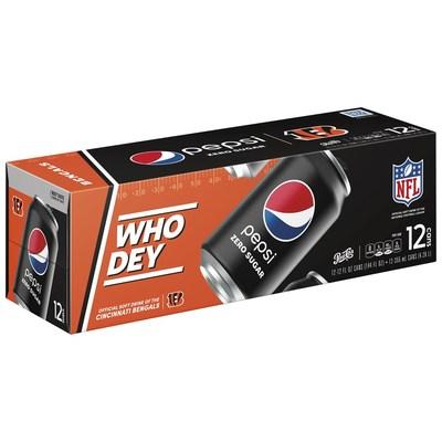 Bengals X Pepsi Zero Sugar 12pk