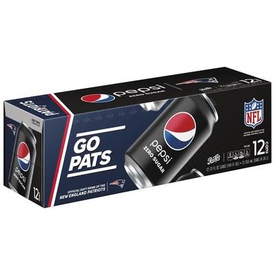 Patriots X Pepsi Zero Sugar 12 pk
