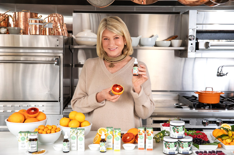 Martha Stewart and Marquee Brands Partner with Canopy Growth Corporation to Launch Martha Stewart CBD (CNW Group/Canopy Growth Corporation)