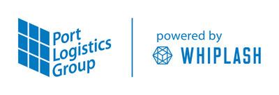 PLG/Whiplash Logo (PRNewsfoto/Port Logistics Group)