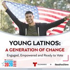 Motivated By The Pandemic And Social Issues, Young Latinos Are Energized About The Presidential Race And Plan To Vote In November According To New Report By Telemundo