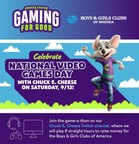 Chuck E. Cheese Celebrates National Video Games Day In-Store & Online