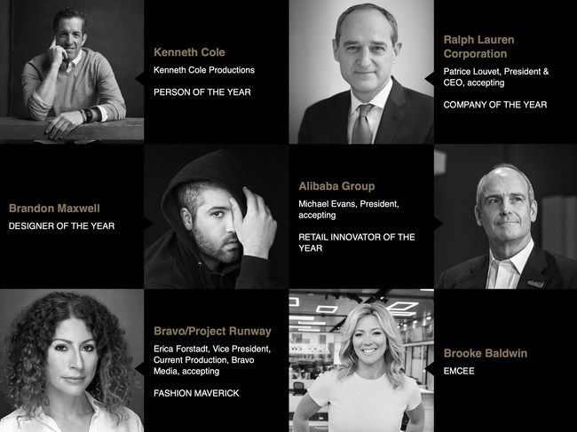 The stellar slate of five honorees will be awarded for their outstanding leadership, vision, and achievements in the fashion industry. The American Image Awards benefits the Council of Fashion Designers of America's Foundation as it advances design and manufacturing innovation through mentorships and business grants.