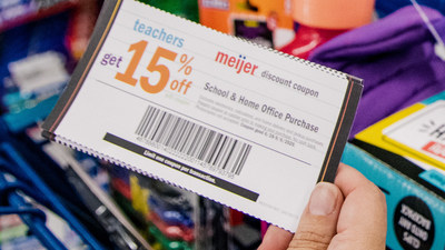 With schools across the Midwest starting classes this week, Meijer is making it a little easier for teachers who will be buying school supplies for their classrooms and home offices out of their own pocket. The Grand Rapids, Mich.-based retailer is extending its 15 percent discount on classroom essentials to be available for the entire 2020/2021 school year.