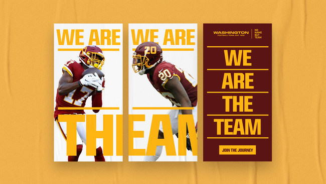 (PRNewsfoto/Washington Football Team)