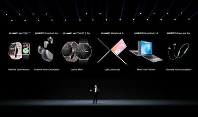 Lanzamiento de Productos Huawei para una Vida sin Complicaciones y con Inteligencia Artificial (PRNewsfoto/Huawei Consumer Business Group)