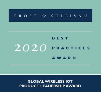 2020 Global Wireless IoT Product Leadership Award