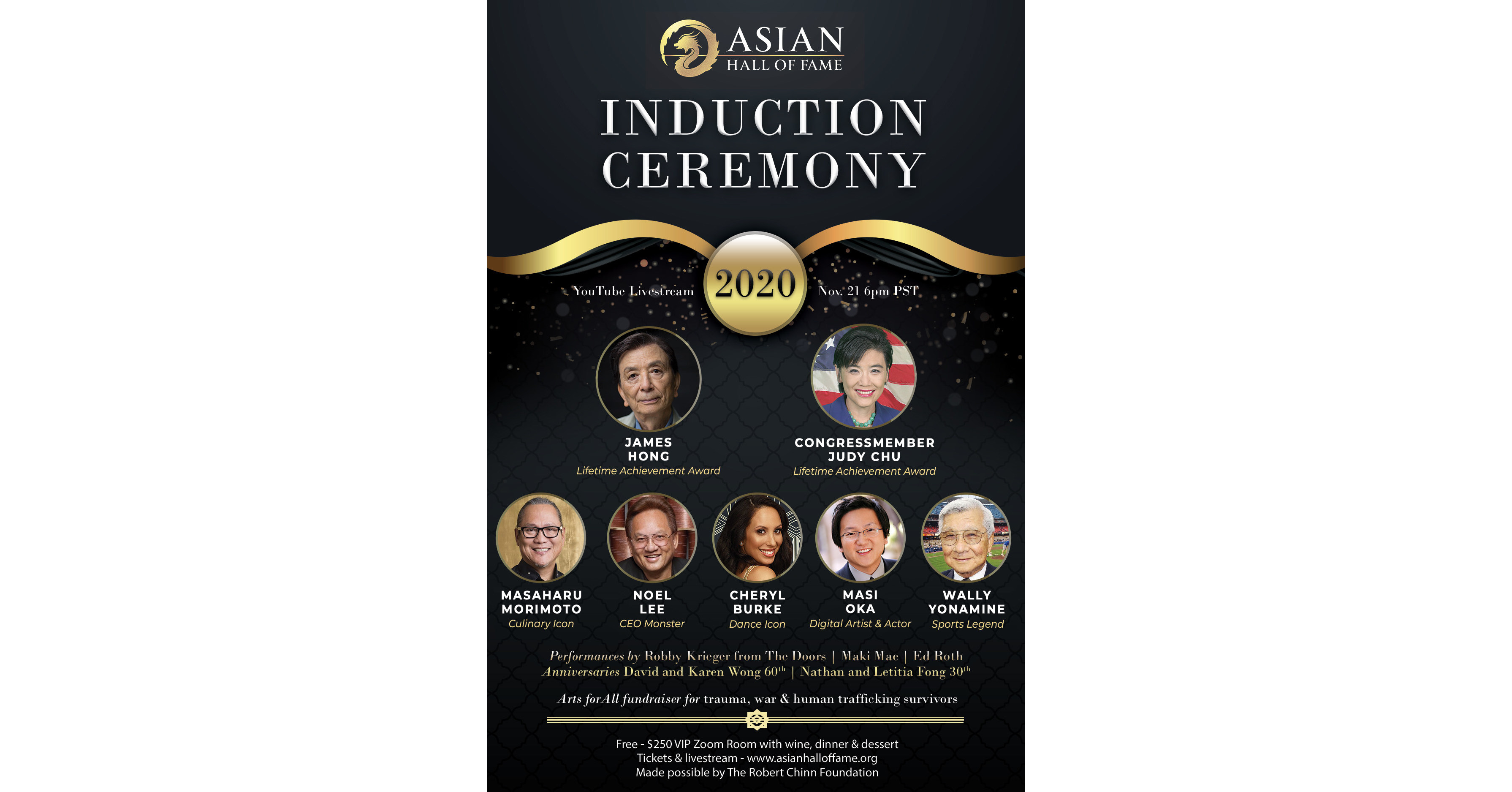 www.prnewswire.com: Asian Hall of Fame Class of 2020 spans decades of leadership