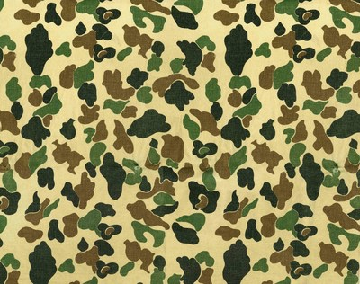Carhartt's very first camouflage pattern, originally used on outerwear and pants in 1972.