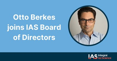 Otto Berkes, CEO at Acendre, has joined IAS's board of directors effective August 26, 2020. Otto is co-inventor on 13 patents, a recipient of Microsoft's Xbox Founder Award, an Emmy Award, and an Edward R. Murrow Award, and is a published author.