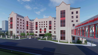 The Domino's Village will be a housing facility on the St. Jude Children's Research Hospital campus. The housing facility will feature 140 fully-furnished apartments, with one, two, or three bedrooms, designed to accommodate different lengths of stay and family sizes.