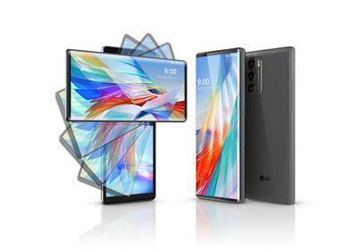 LG REVOLUTIONIZES MULTI-SCREEN EXPERIENCE WITH UNIQUE LG WING 5G SMARTPHONE