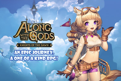 """""""Along with the Gods: Knights of the Dawn"""" was officially released on Google Play Store on the 10th September."""