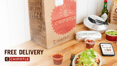 Canadian fans can get free delivery on all orders $12 or more via the Chipotle app and Chipotle.ca through September 28