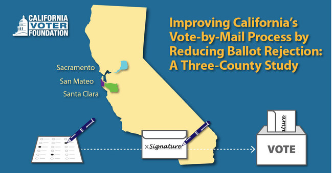 Improving California's Vote-by-Mail Process: A Three-County Study, published by the California Voter Foundation, September 2020