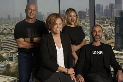 Team8 Fintech's leadership team. Left to right: Yuval Tal, Rakefet Russak Aminoach, Galia Beer-Gabel and Ronen Assia