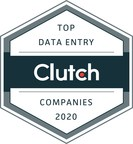 New List of Top 50 Data Entry Companies in 2020 Announced by B2B Ratings and Reviews Firm Clutch