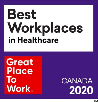 Registered trademark of Great Place to Work (CNW Group/Medtronic Canada ULC)