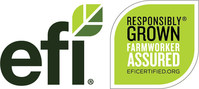 EFI certifies fresh produce company under stringent standards concerning working conditions, food safety and pest management