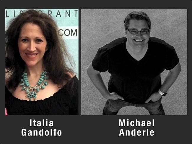 Italia Gandolfo and Michael Anderle