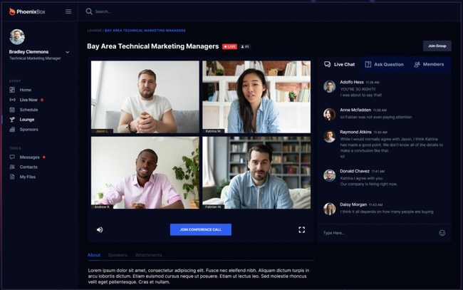 Nytro Events goes beyond on-line video conferencing and webinars by providing meaningful networking, interactivity and engagement experiences that easily connect attendees from all over the world.