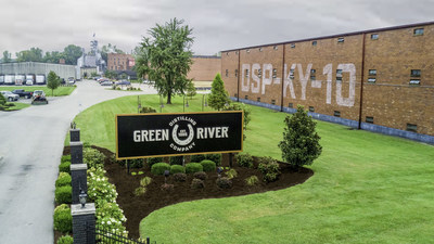 The revived Green River Distilling Co. in Owensboro, Kentucky