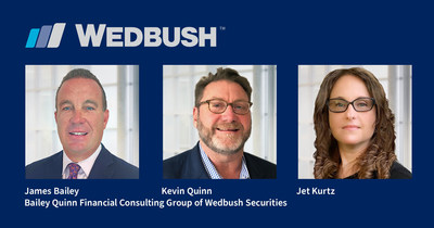 Wedbush Securities Expands East Coast Presence into the Philadelphia Market with Acquisition of Bailey & Quinn Financial Consulting Group