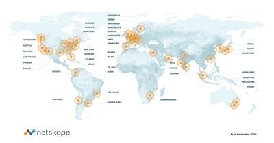 Netskope NewEdge Global Map