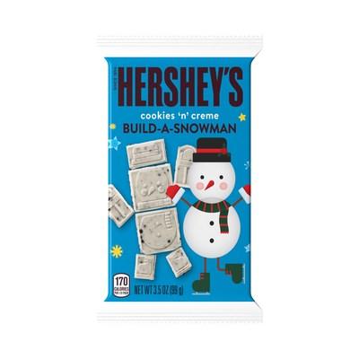 HERSHEY'S Cookies 'N' Creme Build-A-Snowman.