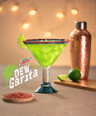 Red Lobster® and PepsiCo Kick Off New Relationship with the DEW® Garita – the First Official MTN DEW® Cocktail