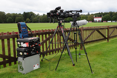 LiveU LU800 in action at the Cartier Queen's Cup 2020 Polo Tournament