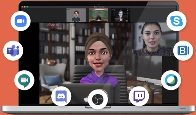 With LoomieLive avatars, enjoy the privacy of voice with the presence of video.