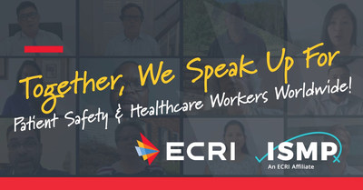 "ECRI, and its affiliate, the Institute for Safe Medication Practices (ISMP), support World Patient Safety Day 2020, on September 17. Together, we honor and support health worker safety, a priority for patient safety. Free resources and ""I Speak Up"" video available at https://www.ecri.org/world-patient-safety-day-2020"