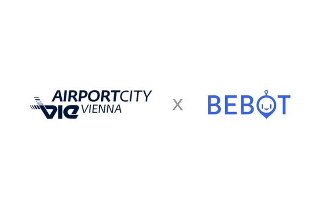 Bebot provides real-time answers to user questions regarding COVID-19, facility information and gives users directions in the Vienna AirportCity.