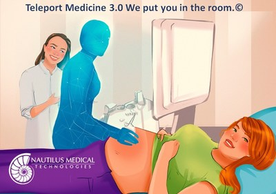 TeleRay virtually places a doctor or specialist in the room with the patient. Teleport medicine is available with Nautilus Medical Technologies.