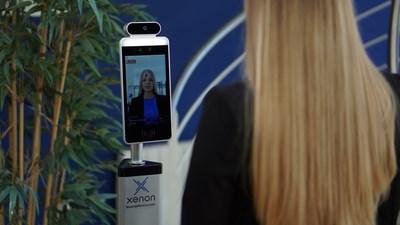 Xenon Fever Defense Temperature Screening Device