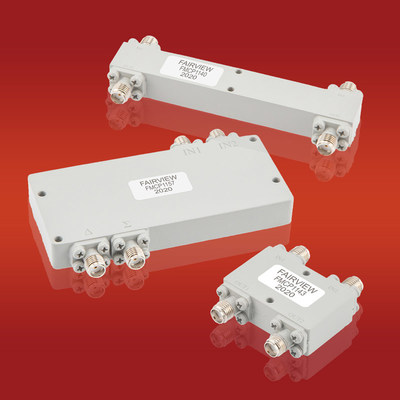 Fairview Microwave Releases New RF Hybrid Couplers Ideal for Wide Band Applications