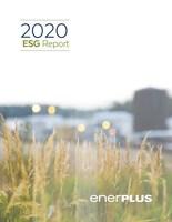 Enerplus 2020 ESG Report (CNW Group/Enerplus Corporation)