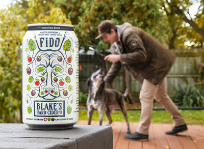 Blake's Hard Cider announces return of Fido Kinder Cider supporting Pets for Patriots.